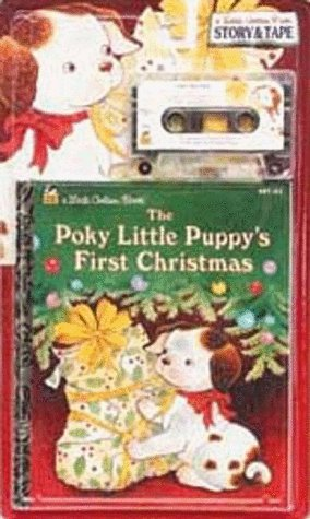 9780307144607: The Poky Little Puppy's First Christmas (Golden Book N Tape)