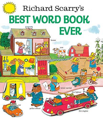 9780307155108: Richard Scarry's Best Word Book Ever (Giant Golden Book)