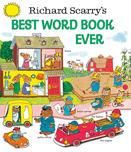 9780307155108: Richard Scarry's Best Word Book Ever (Giant Golden Book)