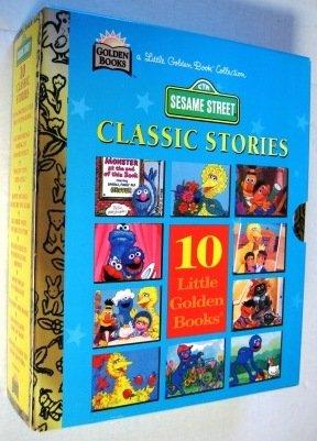 9780307155344: Sesame Street Classic Stories: 10 Little Golden Books (A Little Golden Books Collection)