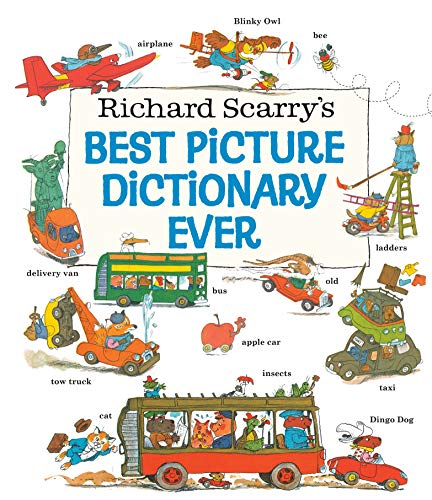 9780307155481: Richard Scarry?s Best Picture Dictionary Ever (Giant Little Golden Book)