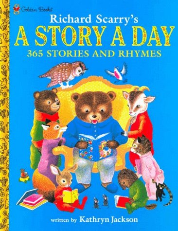9780307155573: Richard Scarry's A Story A Day 365 Stories and Rhymes