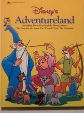 9780307157522: Disney's adventureland: Including Robin Hood and the daring mouse, The sword in the stone, The wizards' duel, The Aristocats (A Golden treasury)