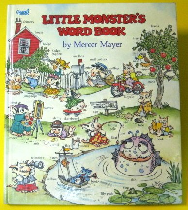9780307157669: Little Monsters Word Book