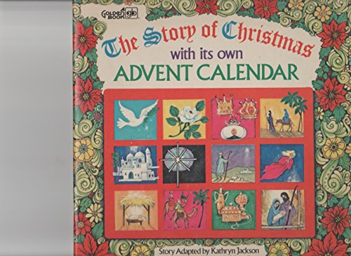 9780307157829: Story of Christmas With Its Own Advent Calendar