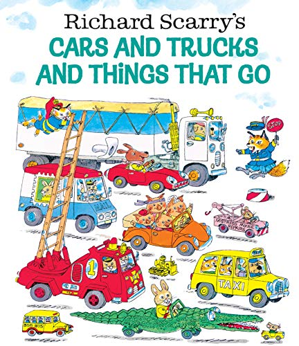 9780307157850: Richard Scarry's Cars and Trucks