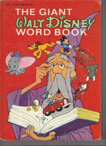 9780307158000: The Giant Walt Disney Word Book