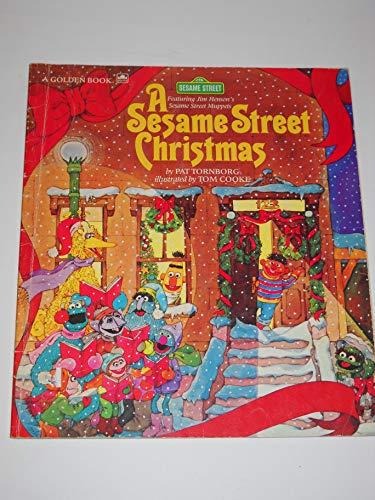 9780307158178: A Sesame Street Christmas: Featuring Jim Henson's Sesame Street Muppets