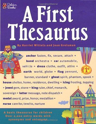 9780307158352: A First Thesaurus