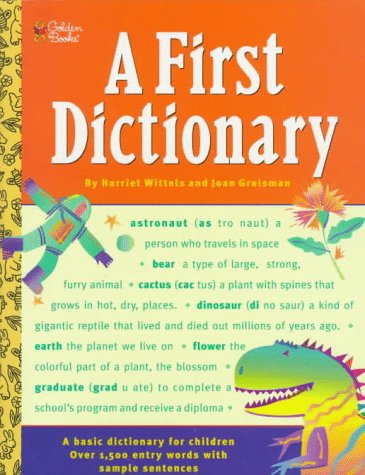 9780307158536: A First Dictionary