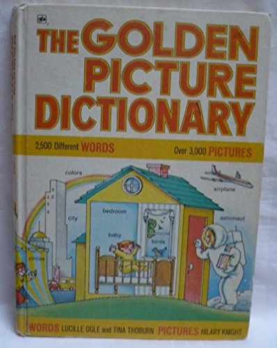 9780307159915: Title: The golden picture dictionary