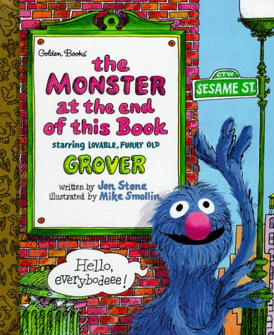 9780307160256: The Monster at the End of This Book (Little Golden Storybook)