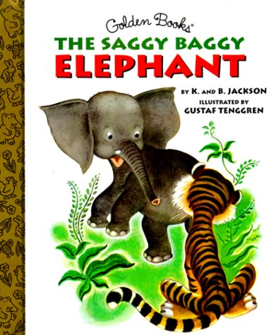 9780307160287: The Saggy Baggy Elephant (Little Golden Storybook)