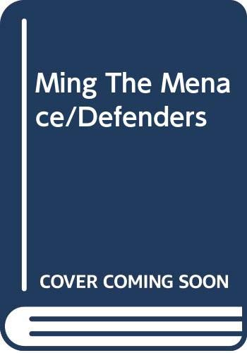 9780307160720: Ming The Menace/Defenders (Defenders of the Earth)