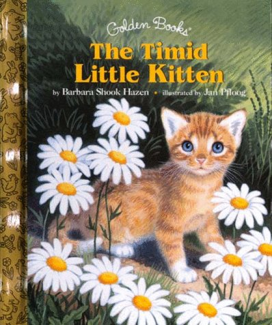 9780307161178: The Timid Little Kitten (Little Golden Storybook)