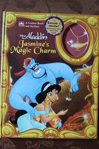 9780307161543: Disney's Aladdin: Jasmine's Magic Charm/Book and Necklace