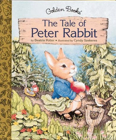 The Tale Of Peter Rabbit Golden Books Potter Beatrix