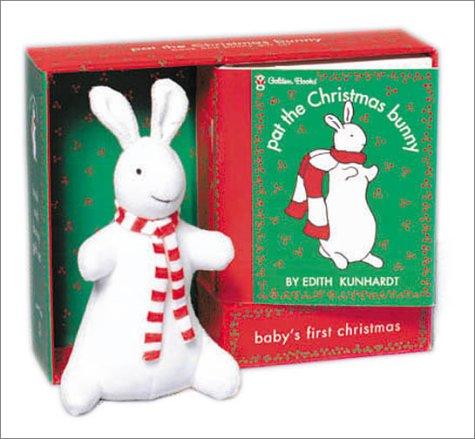 9780307163288: Pat the Christmas Bunny Book and Bunny Gift Set-Baby's First Christmas (Pat the Bunny)