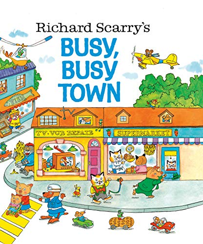 9780307168030: Busy, Busy Town (Golden Look-Look Book)