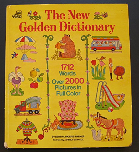 9780307168375: The New Golden Dictionary
