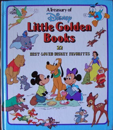 9780307178657: Treasury of Disney Little Golden Books