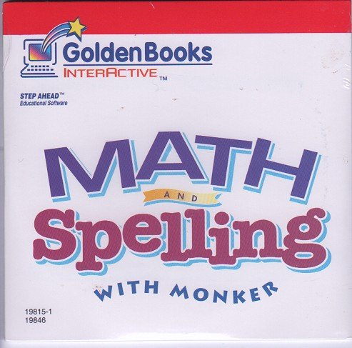 9780307198464: Math/Spelling w/Monker CD ROM
