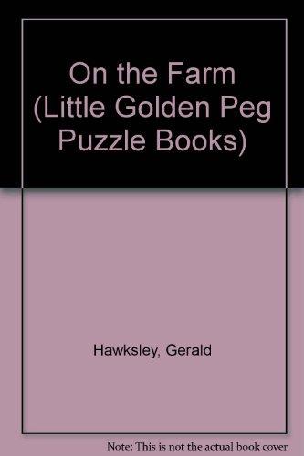9780307200600: On the Farm (Little Golden Peg Puzzle Books)