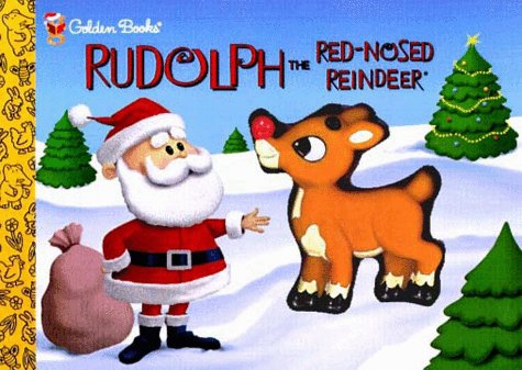 9780307201201: Rudolph the Red-Nosed Reindeer (Golden Squeaktime Book)