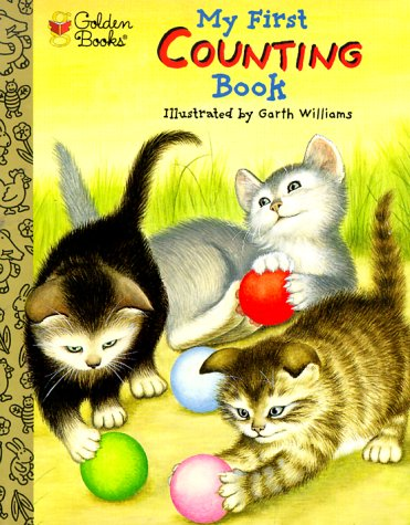 Stock image for My First Counting Book (The Little Golden Treasures) for sale by Bayside Books