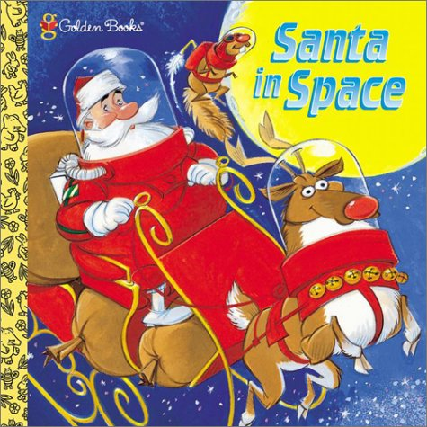 Santa in Space (Look-Look): Jack Silbert