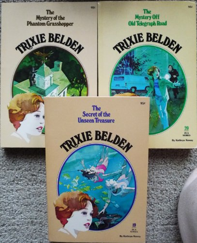 9780307215918: The Mystery Off Old Telegraph Road (Trixie Belden)