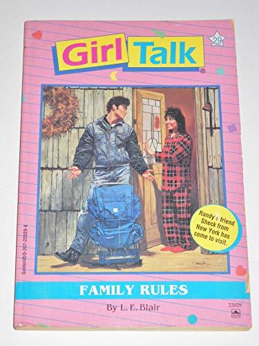9780307220295: Family Rules (Girl Talk)
