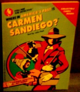 9780307222053: Where in America's Past Is Carmen Sandiego? (You Are the Detective.)