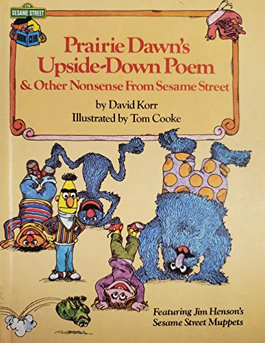 9780307231307: Prairie Dawn's Upside-Down Poem & Other Nonsense From Sesame Street