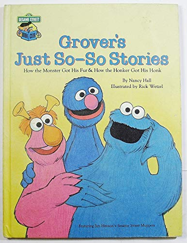 9780307231604: Grover's just so-so stories