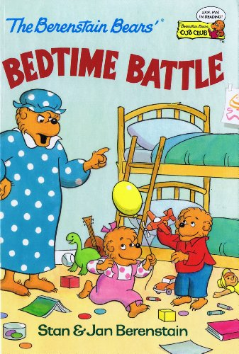 9780307232083: The Berenstain Bears' Bedtime Battle (Cub Club)