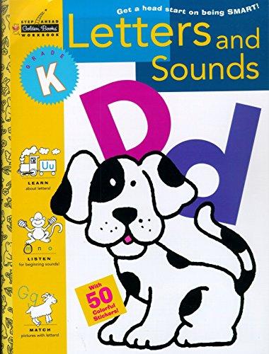 Sawb:Letters & Sounds - Kindergarte (Step Ahead Golden Books Workbook): Bottoni, Lois