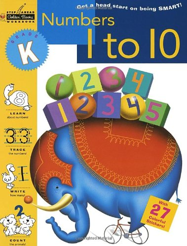 9780307235374: Numbers 1 to 10 (Kindergarten) (Step Ahead)