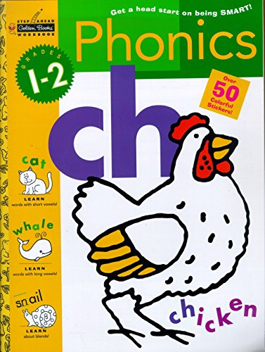 9780307235428: Sawb:Phonics G1-2 (Golden Step Ahead Workbook)
