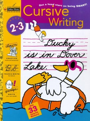 9780307235558: Cursive Writing (Grades 2 - 3) (Step Ahead)