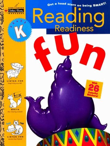 9780307235640: Reading Readiness (Kindergarten) (Step Ahead Golden Books Workbook)