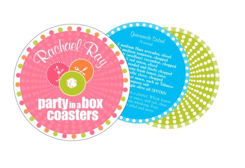 9780307236302: Rachael Ray's Party-in-a-Box Coasters (Potter Style)