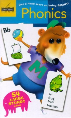 Phonics: Flash Cards(Pack of 54}: Golden Books