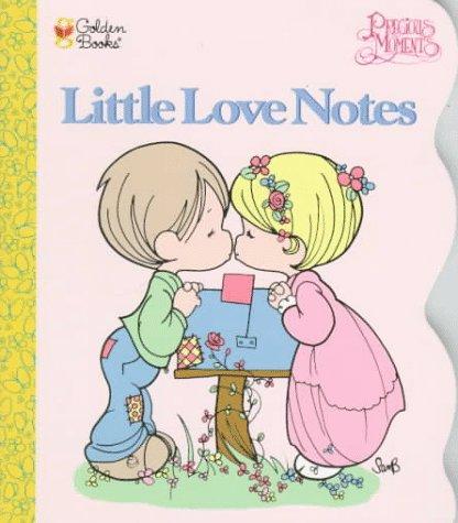 Little Love Notes (Golden Shaped Board Book): Alan Benjamin