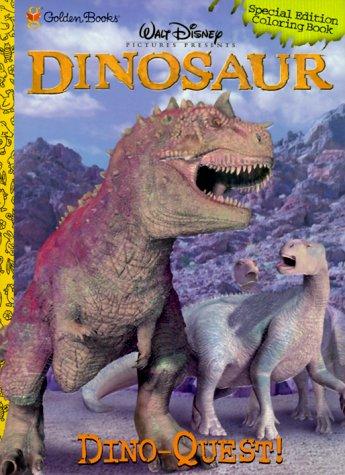 Dino Quest Coloring Book Disney Dinosaur Golden Books