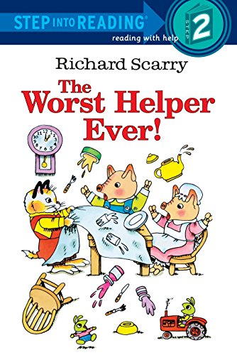 9780307261007: The Worst Helper Ever (Step-Into-Reading, Step 2)