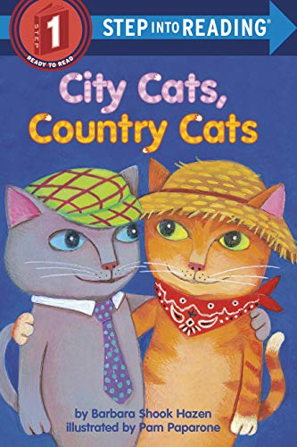 9780307261090: City Cats, Country Cats (Step-Into-Reading, Step 1)