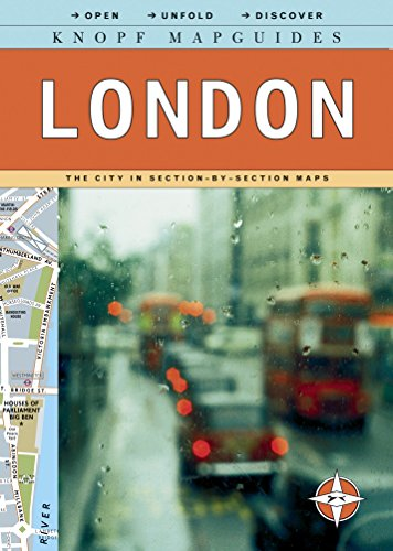 9780307263872: Knopf MapGuides: London: The City in Section-by-Section Maps