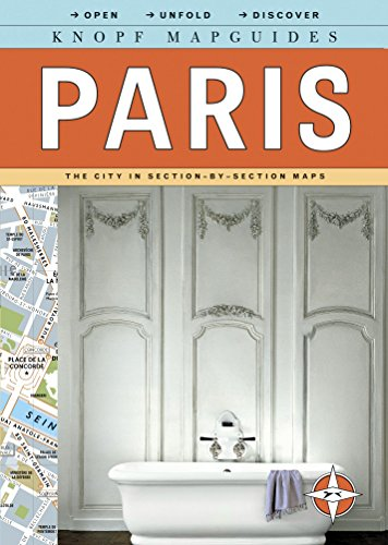 9780307263889: Knopf Mapguides: Paris: The City in Section-by-Section Maps (Knopf Citymap Guides)