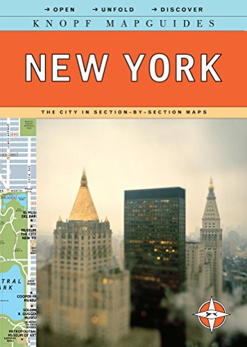 9780307263896: Knopf Mapguides: New York: The City in Section-by-Section Maps